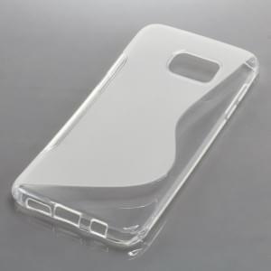 TPU Case Schutzhülle für Samsung Galaxy S7 Edge S-Curve transparent