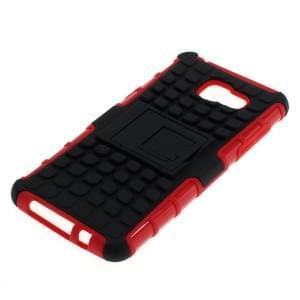Outdoor Dual Schutzhülle mit Ständer für Samsung Galaxy A5 (2106) schwarz-rot
