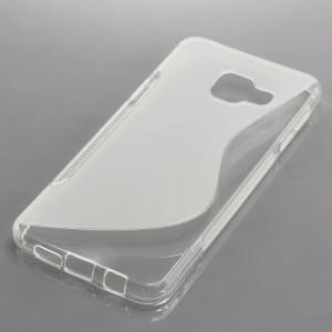 Silikon Case / Schutzhülle für Samsung Galaxy A3 (2016) SM-A310F S-Curve transparent