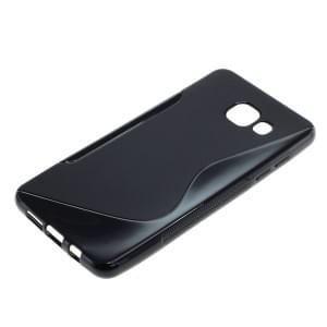 Silikon Case / Schutzhülle für Samsung Galaxy A5 (2016) SM-A510F S-Curve schwarz