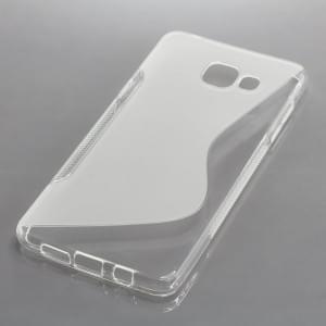 Silikon Case / Schutzhülle für Samsung Galaxy A5 (2016) SM-A510F S-Curve transparent