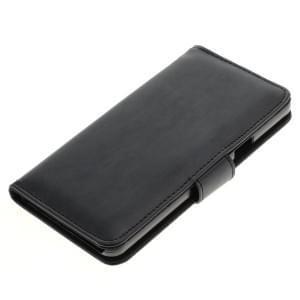 Kunstleder Tasche für Samsung Galaxy A5 (2016) SM-A510F Bookstyle schwarz