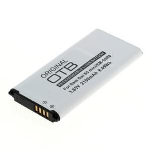 Ersatzakku für Samsung Galaxy S5 Mini Li-Ion mit integrierter NFC-Antenne ersetzt EG-BG8000BBE