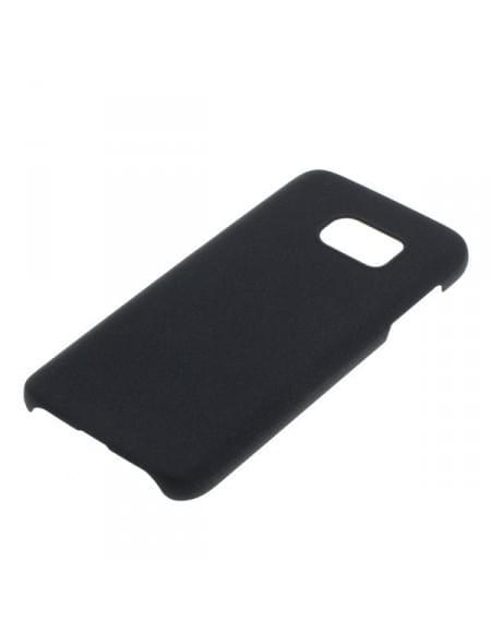 Backcover Case / Schutzhülle für Samsung Galaxy S7 SM-G930 - Sandstruktur - schwarz