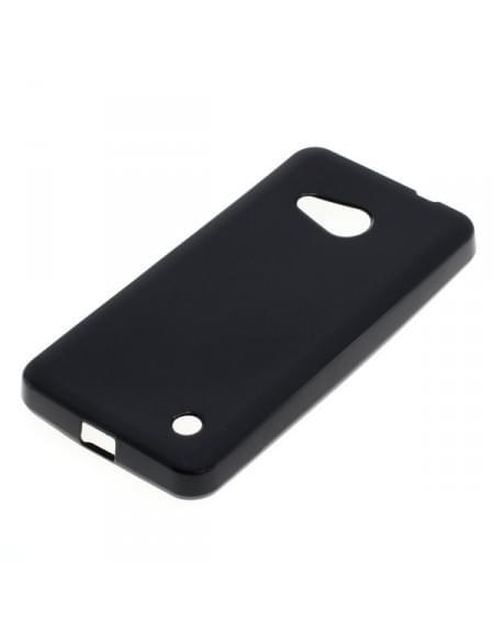 Silikon Case / Schutzhülle für Microsoft Lumia 550 schwarz