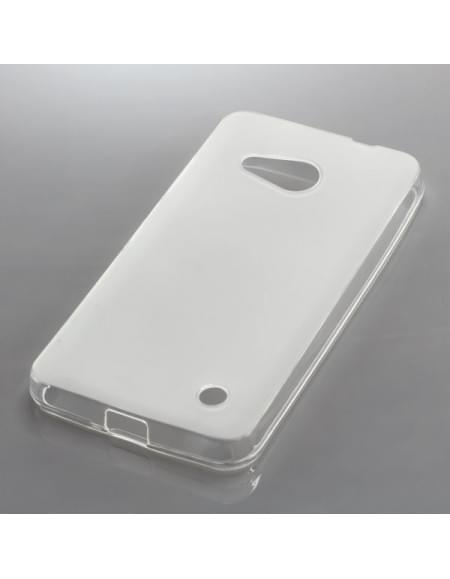 Silikon Case / Schutzhülle für Microsoft Lumia 550 transparent