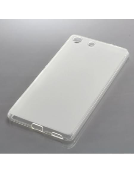Silikon Case / Schutzhülle für Sony Xperia M5 transparent