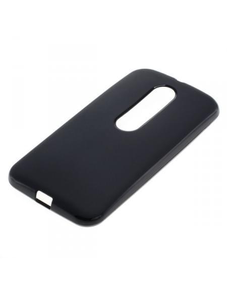 Silikon Case / Schutzhülle für Motorola Moto G (3rd Generation) schwarz