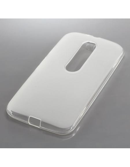 Silikon Case / Schutzhülle für Motorola Moto G (3rd Generation) transparent