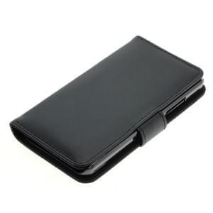 Handytasche Ledertasche PU Leder für Microsoft Lumia 550 Bookstyle schwarz
