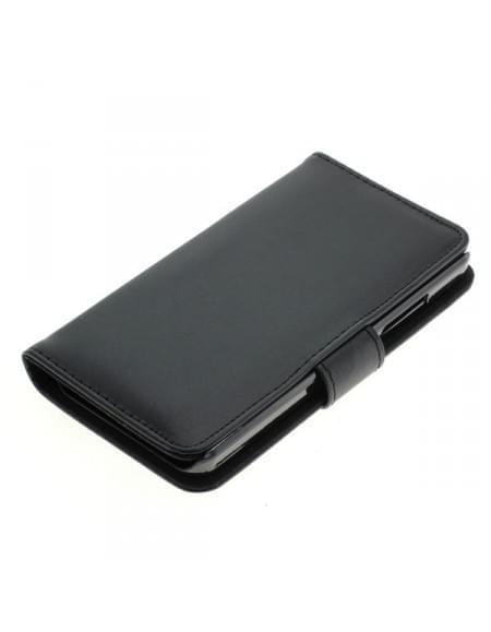 Kunstleder Tasche für Microsoft Lumia 550 Bookstyle schwarz
