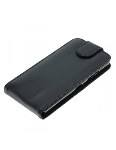 Kunstleder Tasche für Microsoft Lumia 550 Flipcase schwarz