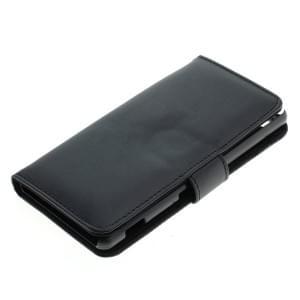 Kunstleder Tasche für Sony Xperia M5 Bookstyle schwarz