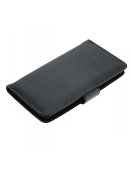 Kunstleder Tasche für Motorola Moto G (3rd Generation) Bookstyle schwarz