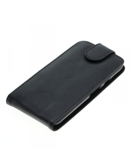 Kunstleder Tasche für Motorola Moto G (3rd Generation) Flipcase schwarz