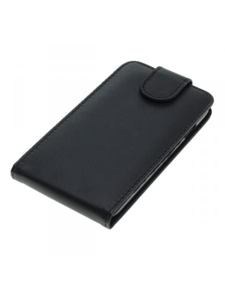 Kunstledertasche für Apple iPhone 7 Flipcase schwarz