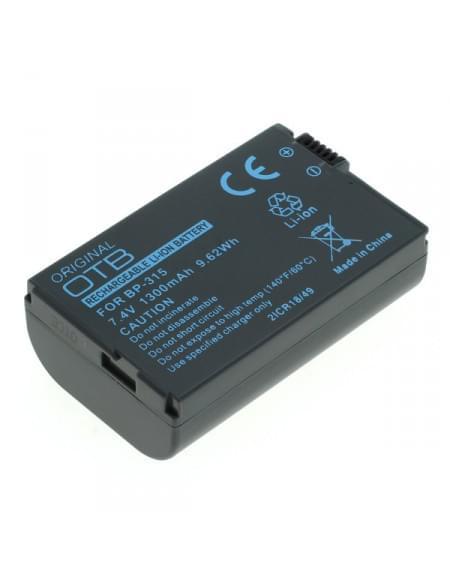 CE zertifiziert Akku, Ersatzakku für Canon HV10 Canon Ixy DV M5 / MVX4i / Optura 600 ersetzt BP-308 / BP-310 / BP-315