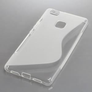 Silikon Case / Schutzhülle für Huawei P9 Lite S-Curve transparent