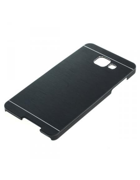Backcover Case / Schutzhülle für Samsung Galaxy A5 (2016) SM-A510F Metall schwarz