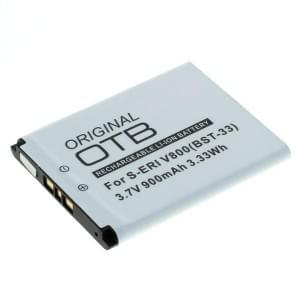 Ersatzakku ersetzt Sony Ericsson BST-33 Li-Ion