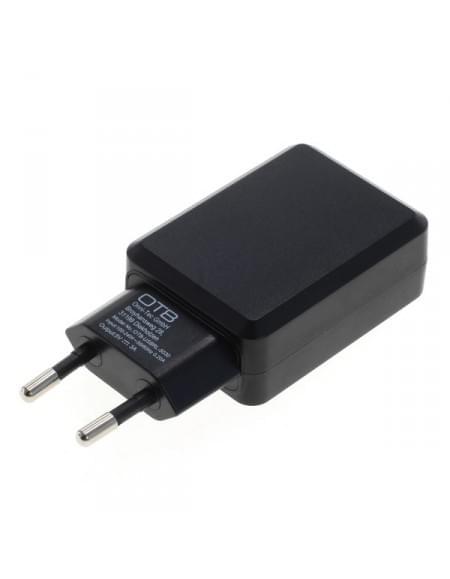 USB Ladeadapter  - 3,0A mit Auto-ID - schwarz