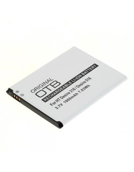 Akku, Ersatzakku 5360570 / B0PB5100 für HTC Desire 516 Li-Ion