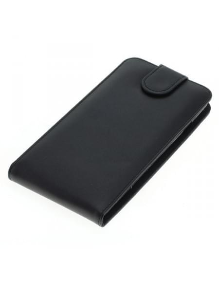 Kunstledertasche für Coolpad Torino Flipcase schwarz