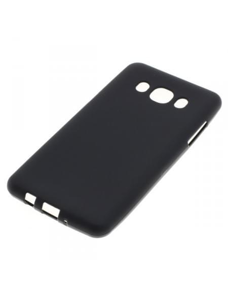 Silikon Case / Schutzhülle für Samsung Galaxy J5 (2016) SM-J510 schwarz