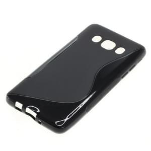 Silikon Case / Schutzhülle für Samsung Galaxy J5 (2016) SM-J510 S-Curve schwarz