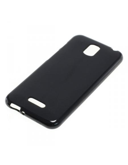 Silikon Case / Schutzhülle für Coolpad Porto schwarz