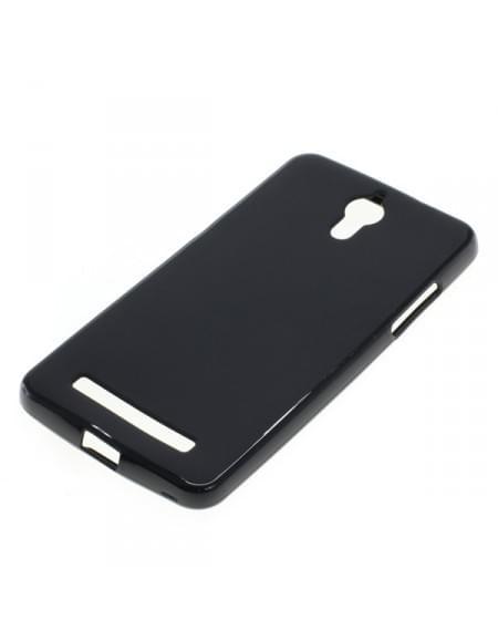 Silikon Case / Schutzhülle für Coolpad Porto S schwarz