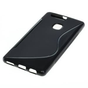 Backcover Case / Schutzhülle für Huawei P9 Plus S-Curve schwarz