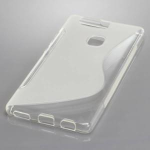 Backcover Case / Schutzhülle für Huawei P9 Plus S-Curve transparent