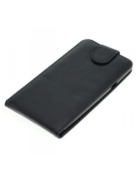 Kunstledertasche für Coolpad Modena 2 Flipcase schwarz