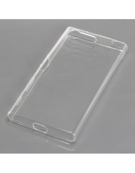 Sony Xperia X Compact Silikon Crystal Case Ultratransparente Schutzhülle