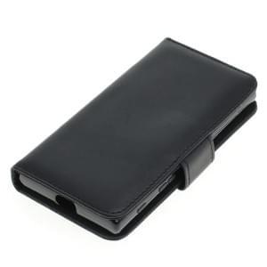Kunstleder Tasche für Sony Xperia X Compact Bookstyle schwarz