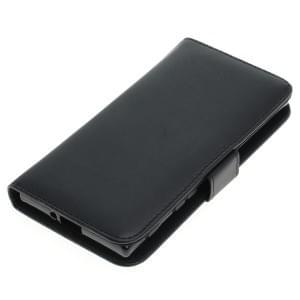 Kunstleder Tasche für Sony Xperia XZ Bookstyle schwarz