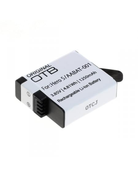 CE zertifiziert Akku, Ersatzakku für GoPro Hero 5 / AABAT-001 Li-Ion