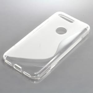 Silikon Case / Schutzhülle für Google Pixel S-Curve transparent