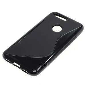 Silikon Case / Schutzhülle für Google Pixel XL S-Curve schwarz