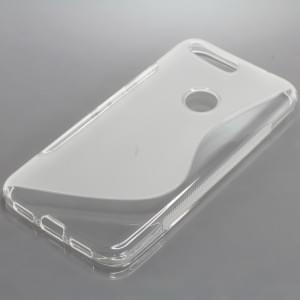 Silikon Case / Schutzhülle für Google Pixel XL S-Curve transparent