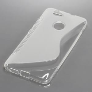 Silikon Case / Schutzhülle für Huawei Nova S-Curve transparent