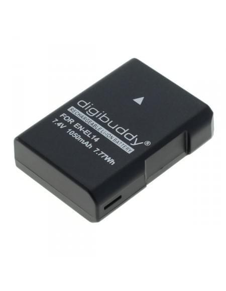 CE zertifiziert Akku, Ersatzakku EN-EL14 / EN-EL14a für Nikon D5600 / D3400 1050mAh - neueste Version