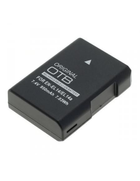 CE zertifiziert Akku, Ersatzakku EN-EL14 / EN-EL14a für Nikon D5600 / D3400 Li-Ion - neueste Version