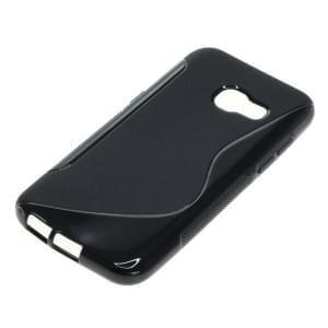 Silikon Case / Schutzhülle für Samsung Galaxy A3 (2017) S-Curve schwarz