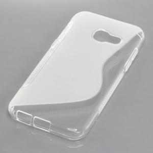 Silikon Case / Schutzhülle für Samsung Galaxy A3 (2017) S-Curve transparent