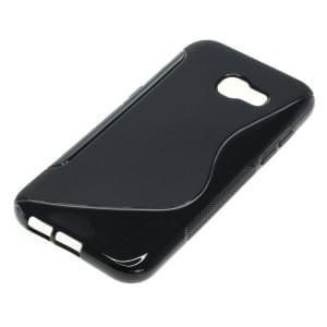 Silikon Case / Schutzhülle für Samsung Galaxy A5 (2017) S-Curve schwarz