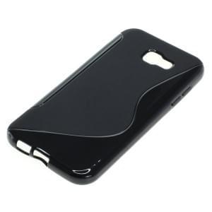 Silikon Case / Schutzhülle für Samsung Galaxy A7 (2017) S-Curve schwarz