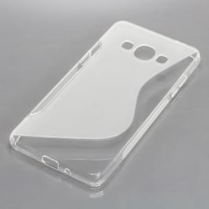 Silikon Case / Schutzhülle für Samsung Galaxy J3 (2017) S-Curve transparent