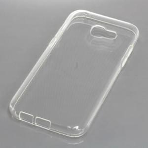 Silikon Crystal Case Ultra Transparente Schutzhülle für Samsung Galaxy A5 (2017)